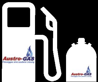 Austro-Gas ist Lieferant für Flüssiggas und bietet auch Flaschengas und Autogas an